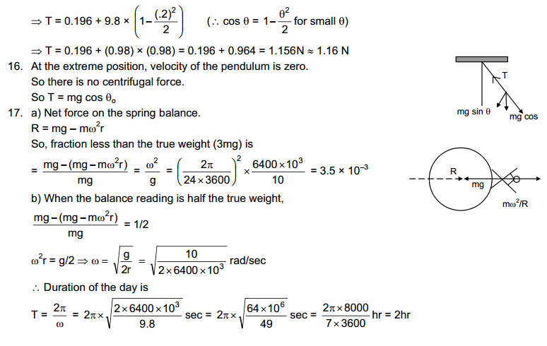 Circular Motion HC Verma Concepts of Physics Solutions-6