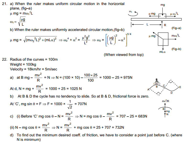 Circular Motion HC Verma Concepts of Physics Solutions-9