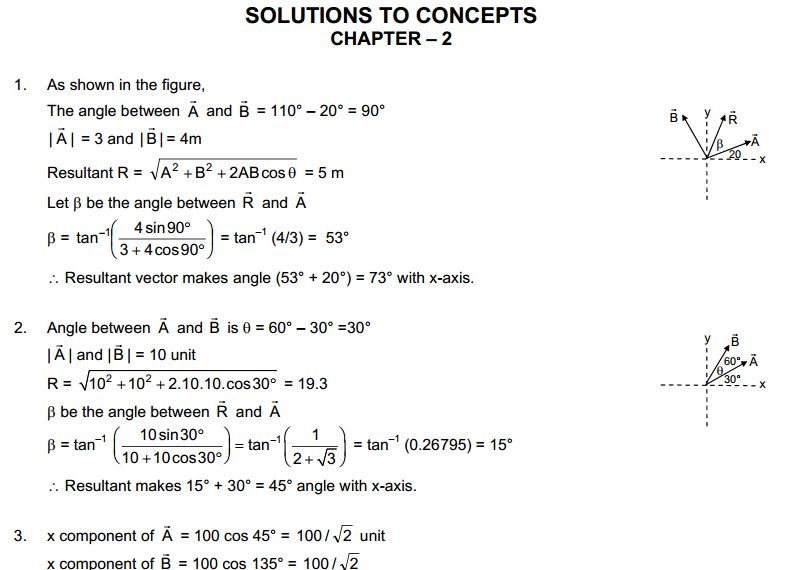 Physics and Mathematics HC Verma Solutions to Concepts Chapter 1