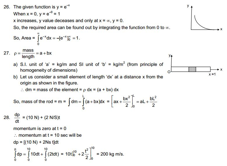 Physics and Mathematics CBSE HC Verma Solutions to Concepts Chapter 1